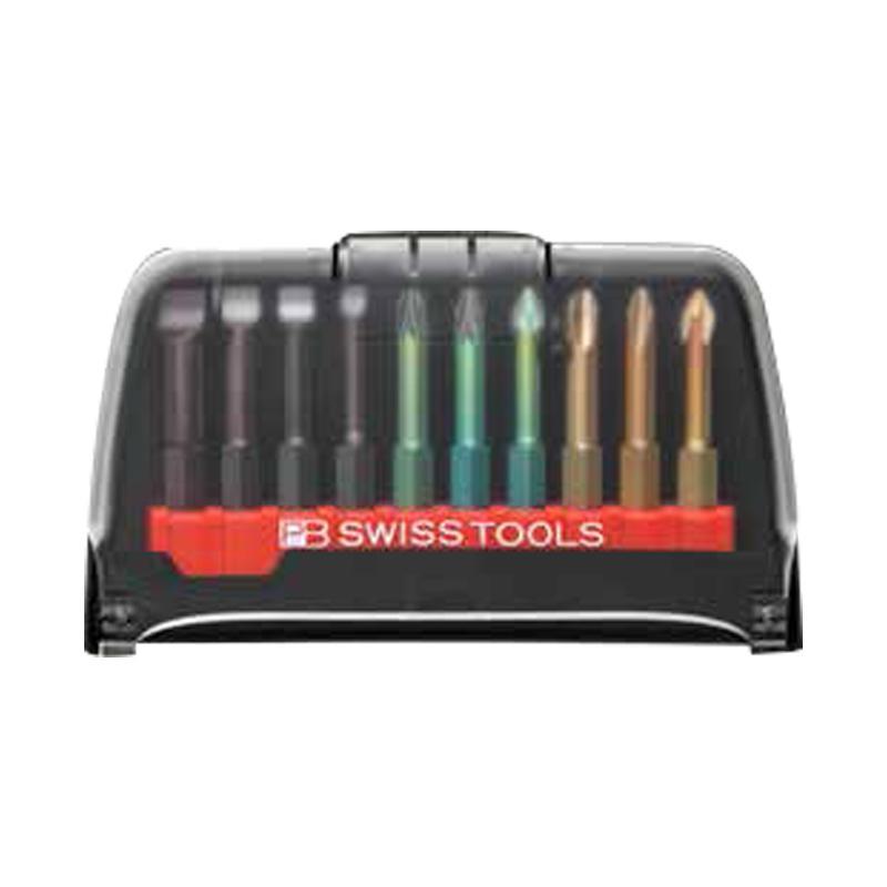 PB SWISS TOOLS 6.35mm(1/4)六角柄精密螺丝批批头套,10件套,PB E6.986