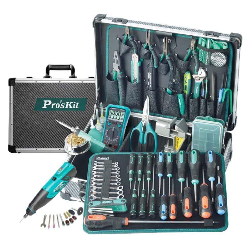宝工ProsKit 专业电子维修工具组套,63件套, PK-1900NH