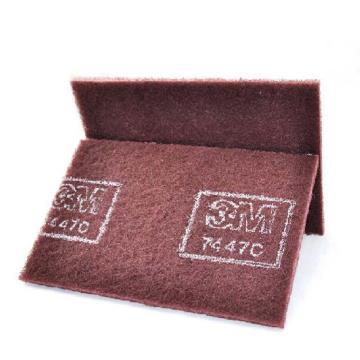 3M工业百洁布,7447C 150mm*230mm,60片/箱,单位:箱