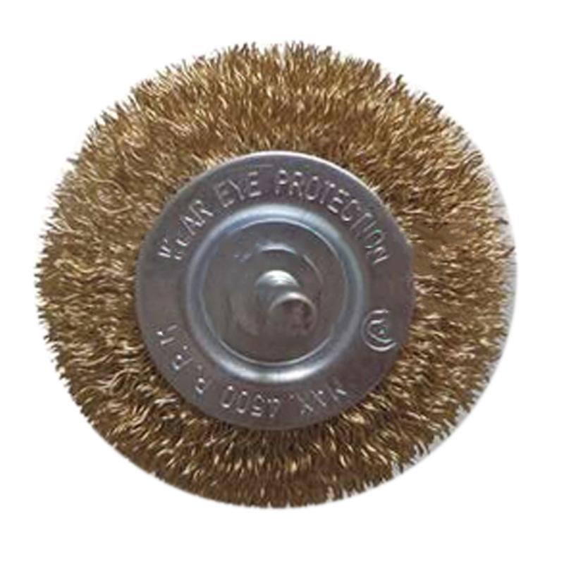 尚弘曲丝杆平刷,直径75mm,柄径6mm,丝径0.3mm,506161-3008,10只/包
