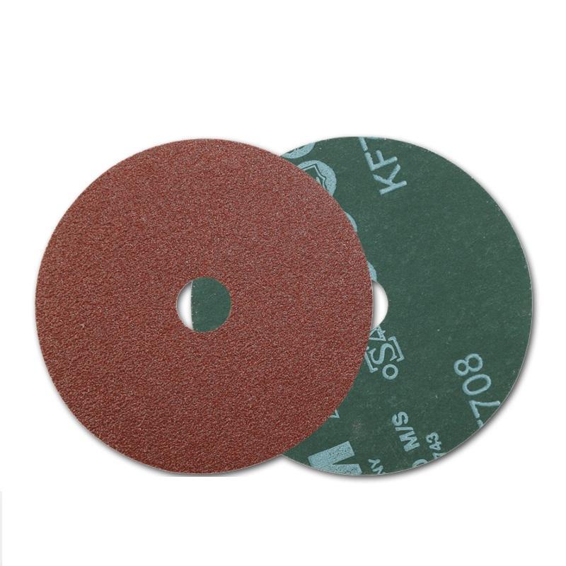 威力士 钢纸砂轮片(纤维砂碟),WF-18系列 5寸(125mm)60# 100片/盒,20盒/箱(2000片/箱)