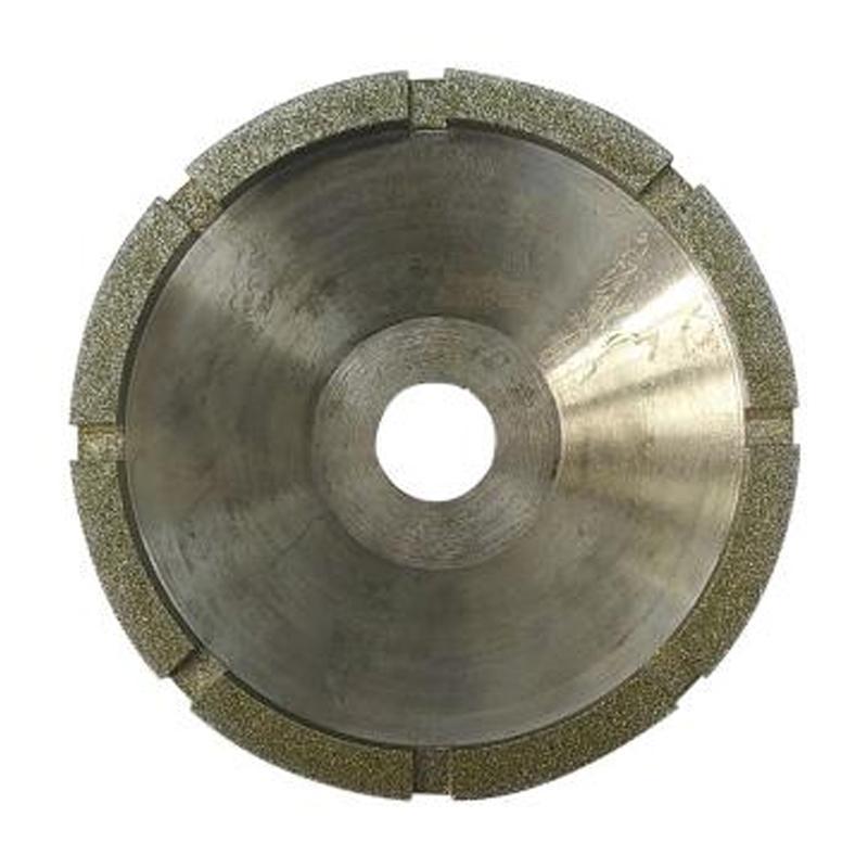 遂盾金刚石碗型砂轮(钎焊),Ø100*Ø27*45mm 40-50目