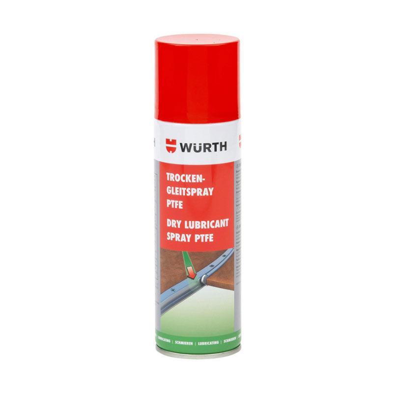伍尔特 聚四氟乙烯干性润滑喷剂 ,0893550, 300ML/瓶