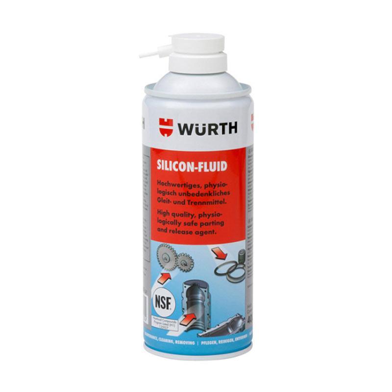 伍尔特 食品级硅润滑油喷剂,0893221000,400ML/瓶