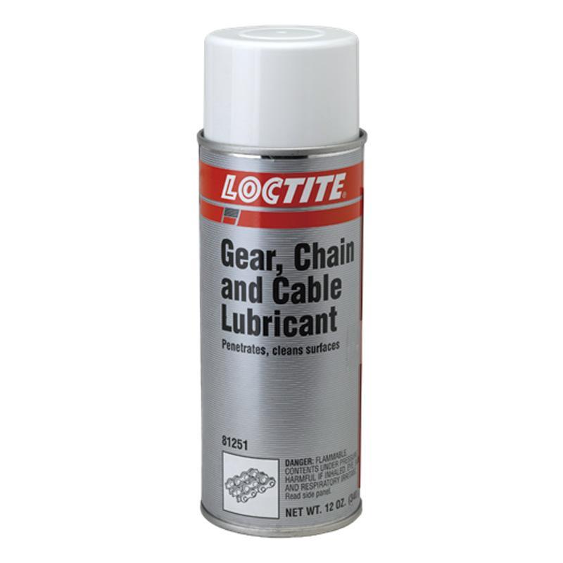乐泰 链条润滑剂,LOCTITE LB 8421 GEAR/CHAIN LUBE,400ml/瓶