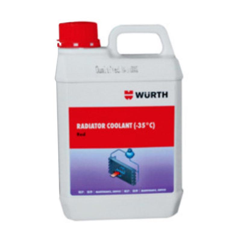 伍尔特 水箱专业冷却液(35度),08923521,红色,2L/桶