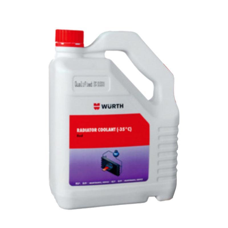 伍尔特 水箱专业冷却液(35度),08923541,红色,4L/桶