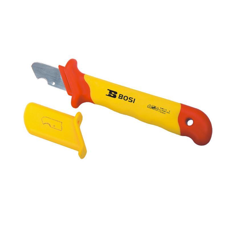 波斯BOSI VDE绝缘小圆型电缆刀,28*170mm,BS600206