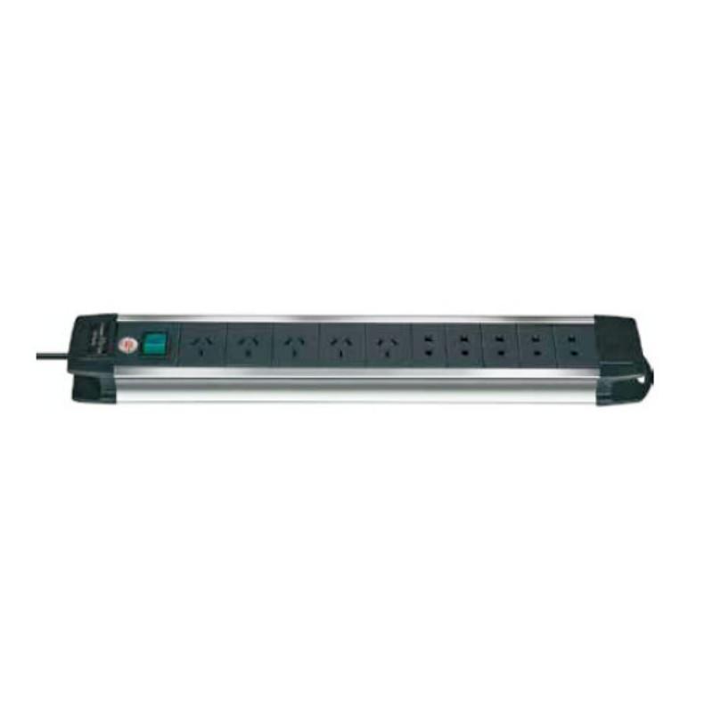 塔夫TAFFTOOL,工业插线板(铝合金)3m 十孔,7619510