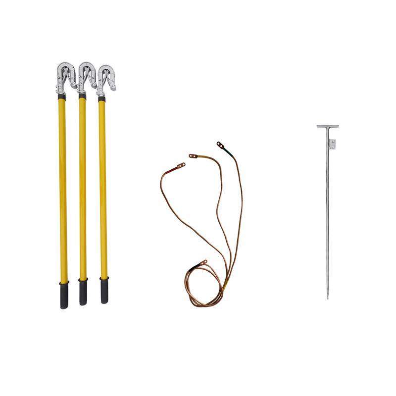 联护电力 10KV、25方*3*2+18米线1米棒、25方室外双簧接地线、接地针、接地软铜线、现做