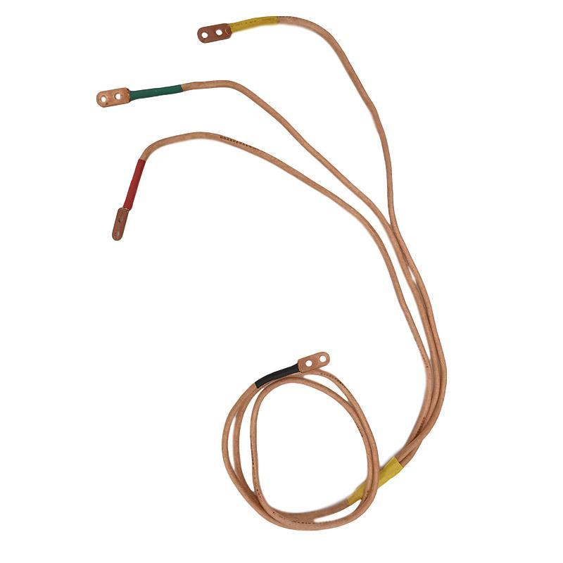 联护电力 25方接地软铜线1米、配电室内/户外用高压接地线、定制、
