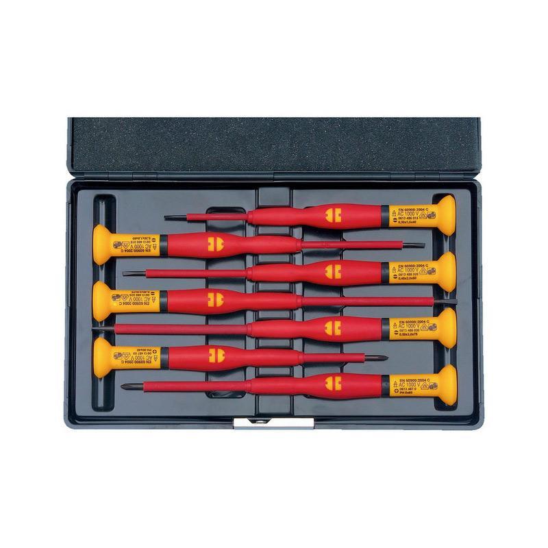 伍尔特 一字/十字电工绝缘仪表改锥组套 7件套 06134894