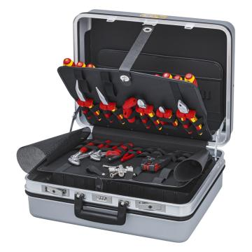 凯尼派克 Knipex 电气维护工具箱 23件组套 00 21 30