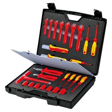 凯尼派克 Knipex 绝缘工具套装 26件套  98 99 12