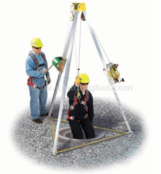 梅思安 10117244 沃克曼三脚架组合套装(含自锁营救装置)