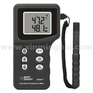 希玛AR847分体式温湿度计