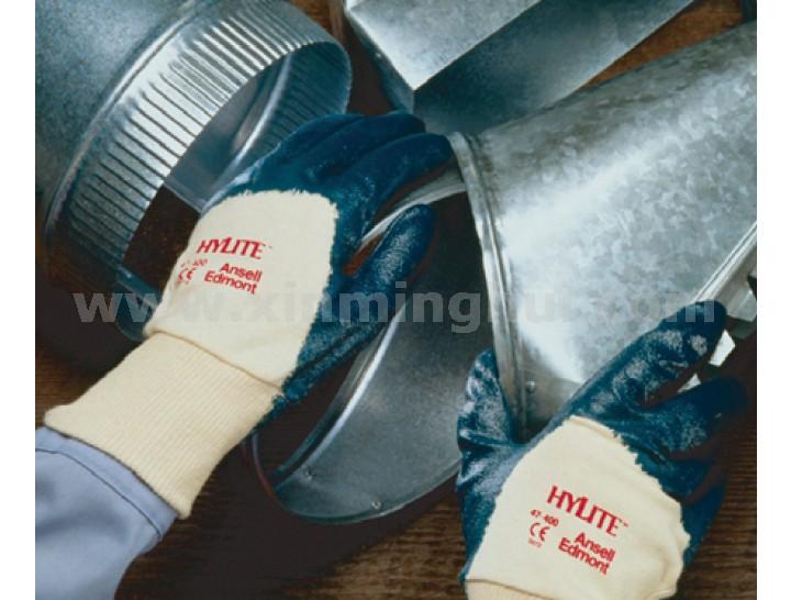 Ansell 47-400-8丁腈涂层通用手套