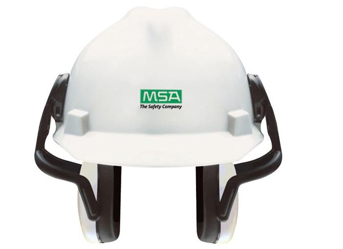 梅思安 10087430 左/右系列 中衰减 白 头盔式