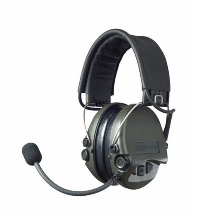 梅思安 SOR75200 超威专业型耳罩 智能滤噪 环境音放大