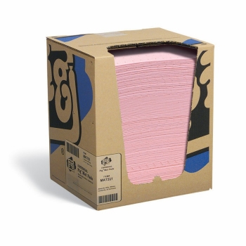 New Pigmat351箱装防化学吸污垫