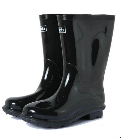 WARRIOR/回力 WQ-3A绅士中筒橡胶雨靴
