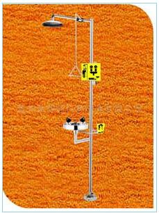京权XSD-7712复合式紧急冲淋洗眼器