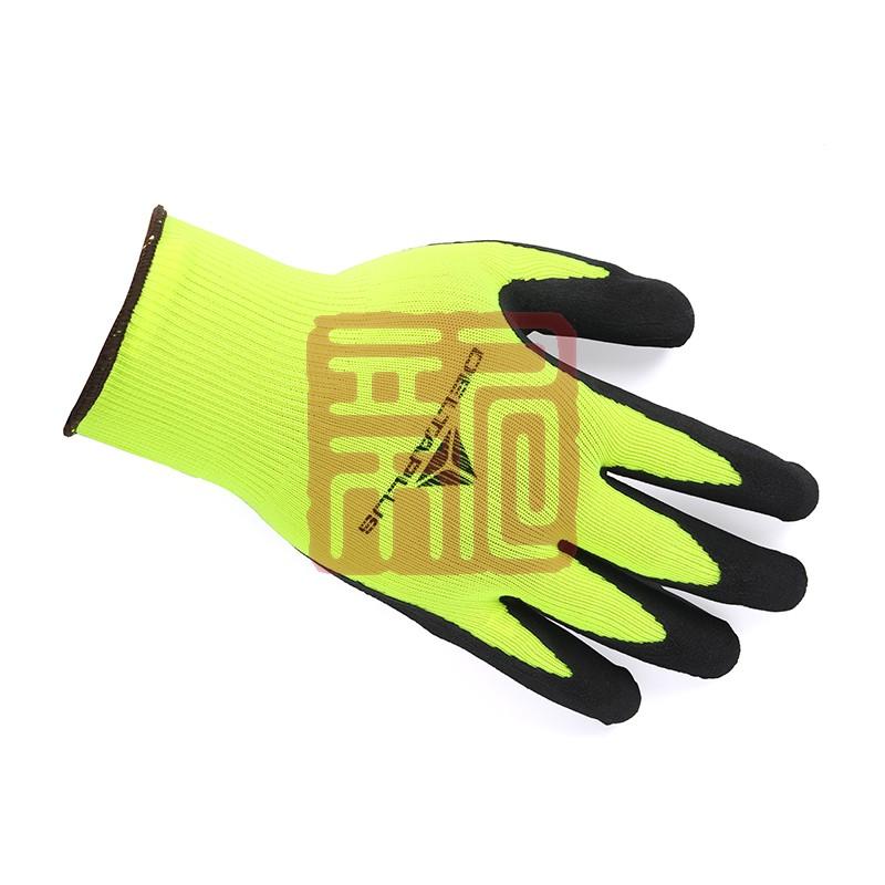 代尔塔 201733-8乳胶涂层无缝针织防护手套 VV733封面