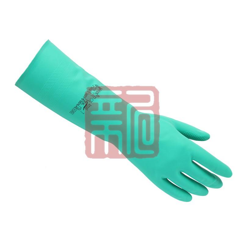 安思尔Ansell 37-176丁腈橡胶防化手套封面
