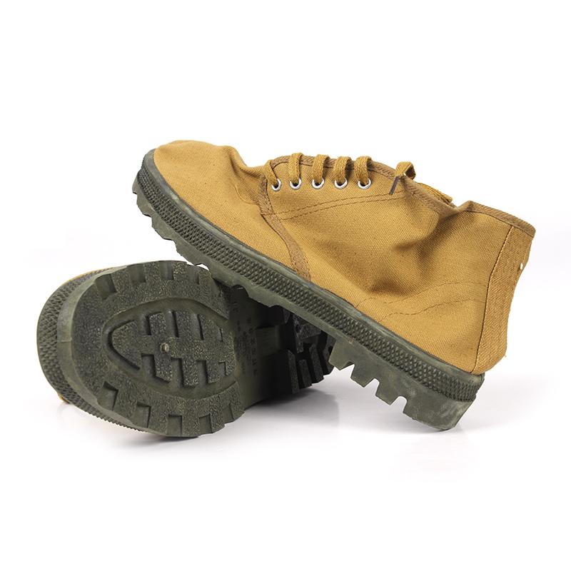 双安高帮耐油鞋(黄色)-43(退市)