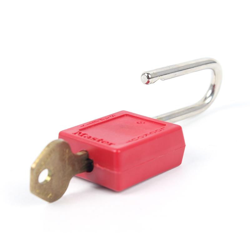 玛斯特410KAMCNRED红色工程塑料锁