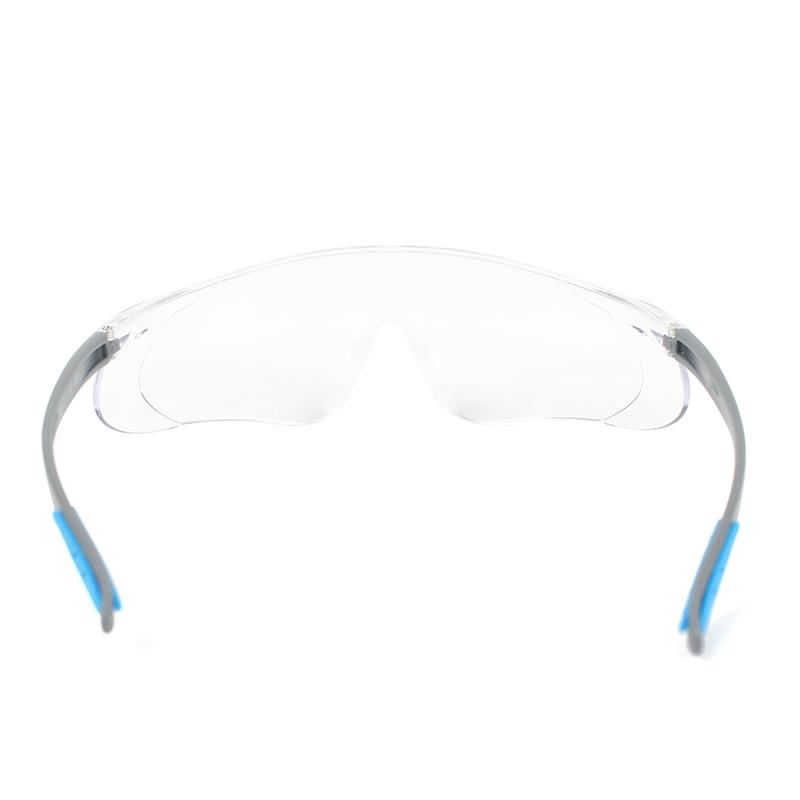 霍尼韦尔S300A 300210通用款灰蓝镜架 透明镜片 加强防刮擦眼镜