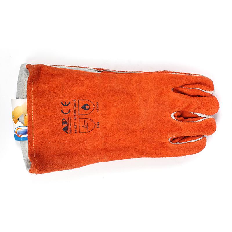 友盟AP-0328-M锈橙色烧焊手套