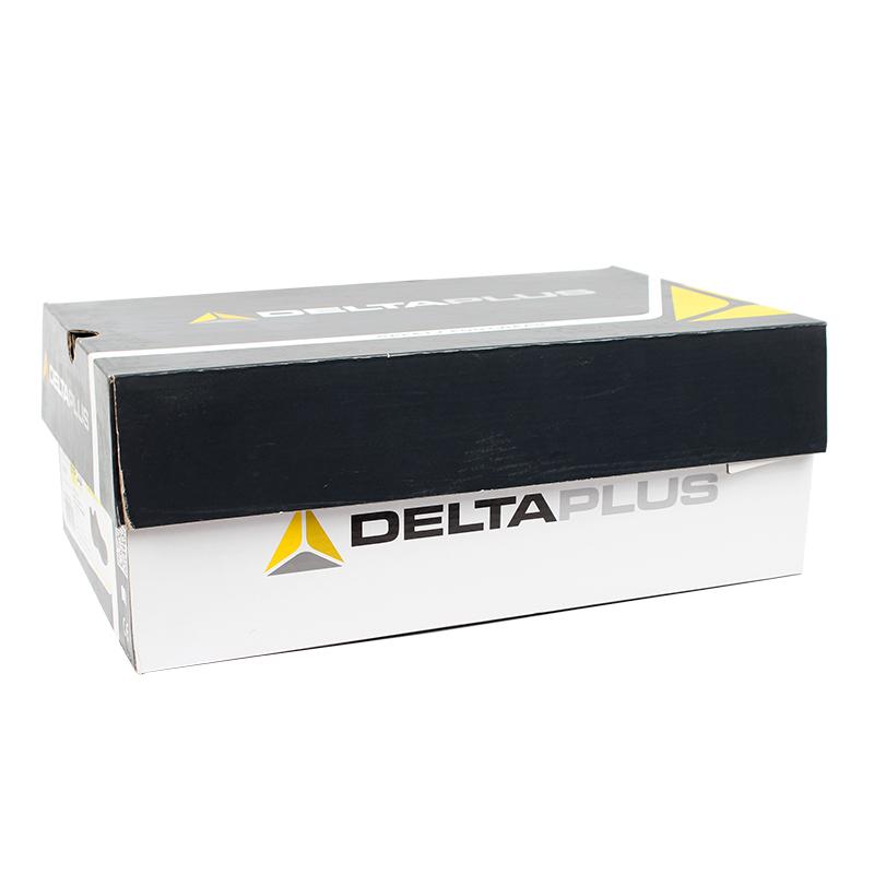 代尔塔301210 VIAGI S1P无金属安全鞋 黑/红35(停产)