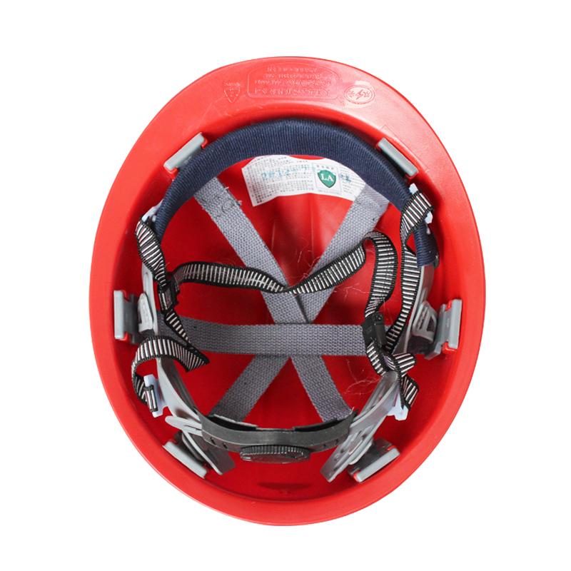 双安新型安全矿工帽 红色