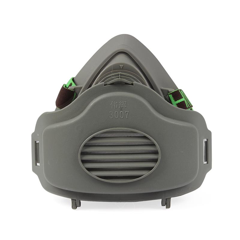 伟辉3000橡胶灰色防尘半面罩