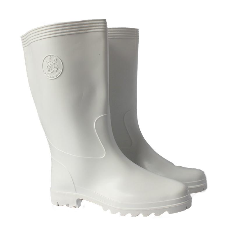 红叶耐油高靴食品靴 白色