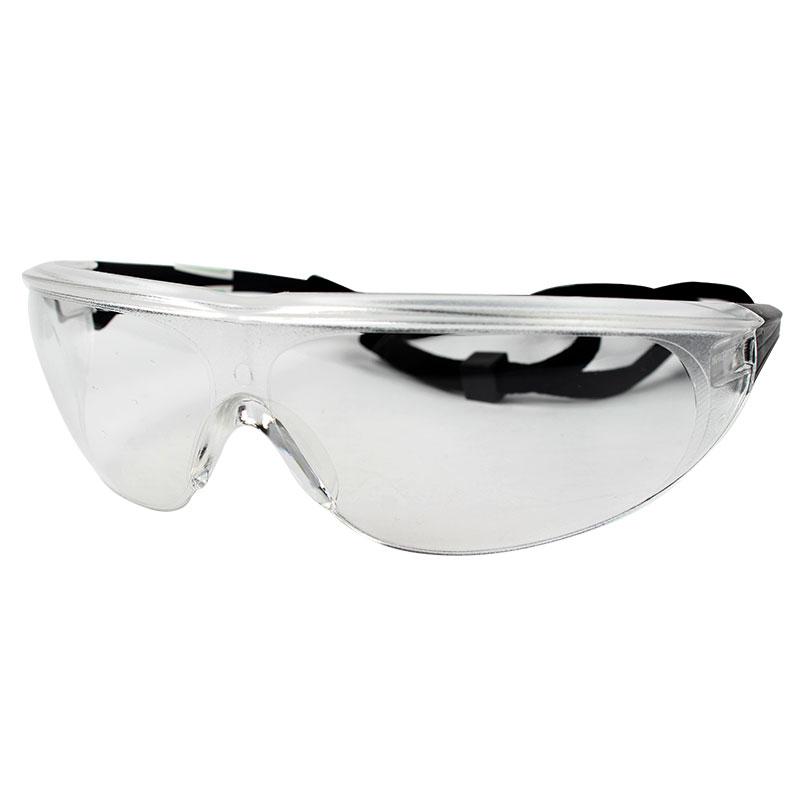 Honeywell霍尼韦尔1005985 M100流线型防雾防刮擦防护眼镜(黑架白屏)