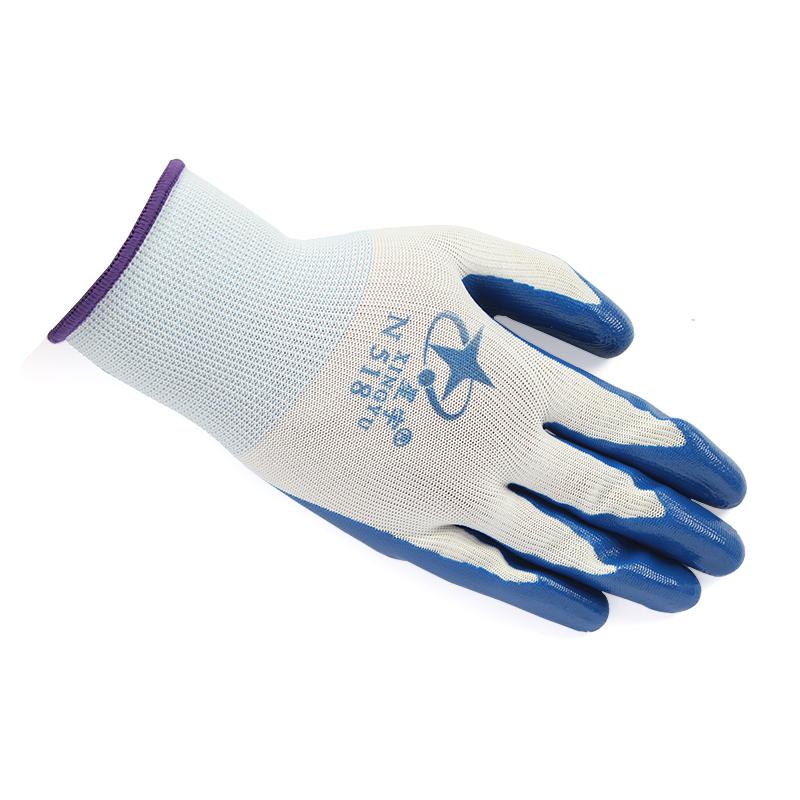 星宇N518尼龙兰丁腈手套