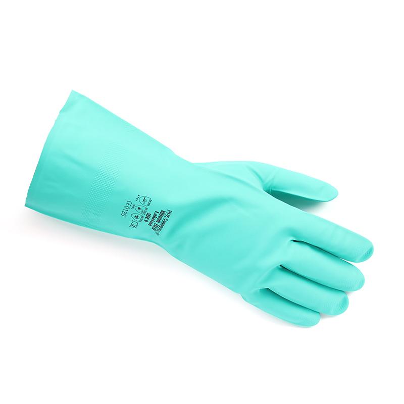 LAKELAND/雷克兰 EN15F-8 丁腈橡胶高性能抗化学手套