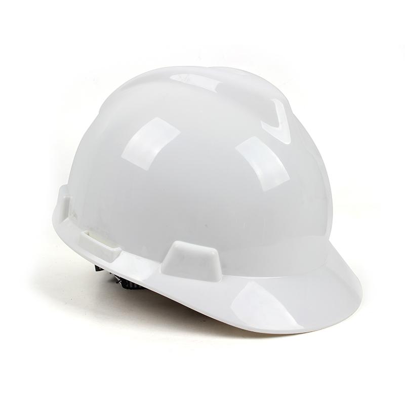 桉叶 AY9805 ABS V型安全帽 白