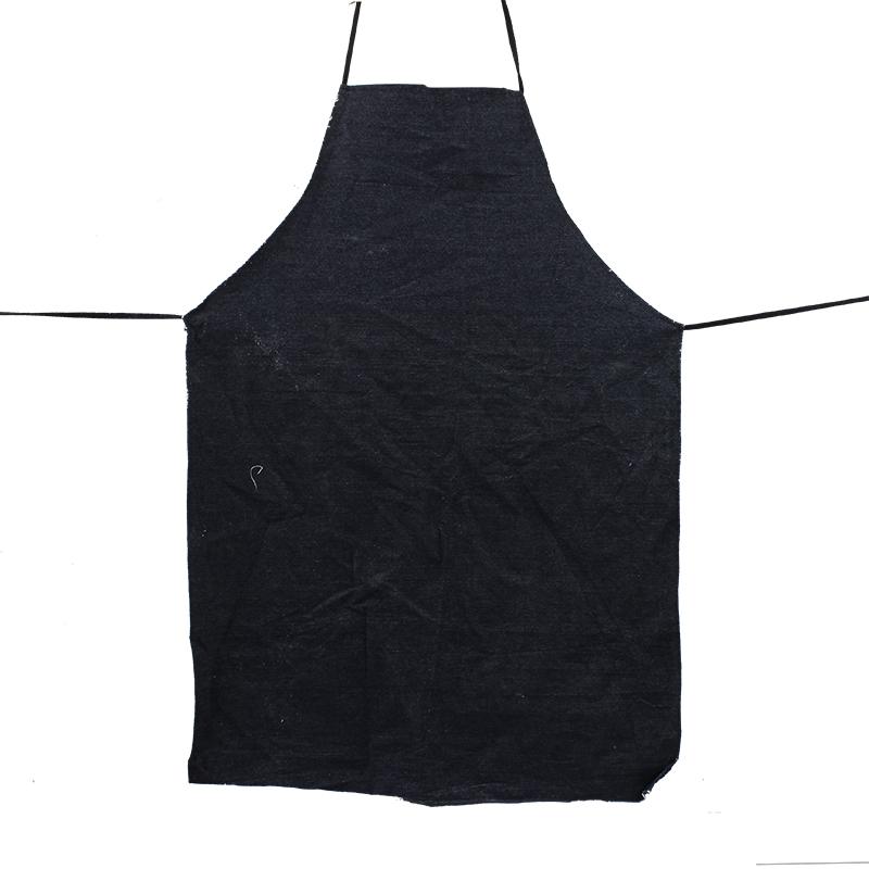 牛仔布围裙(颜色随机)