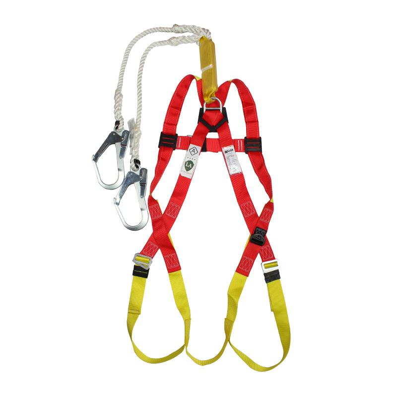 霍尼韦尔DL-C2单挂点双挂钩集成式全身式安全带