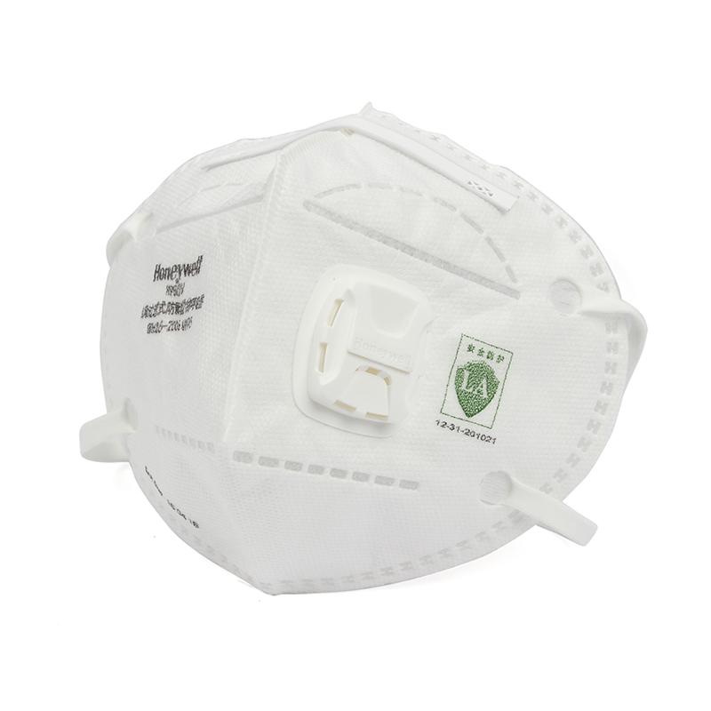 霍尼韦尔H1009501V H950V KN95 折叠式口罩白色耳带式环保装