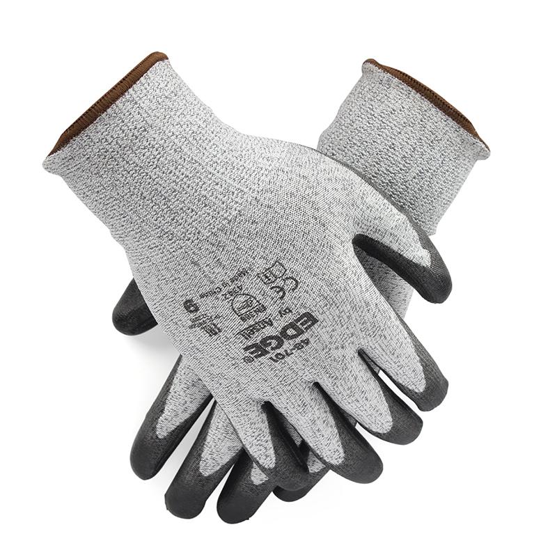 安思尔48701080 PU涂层3级防割手套