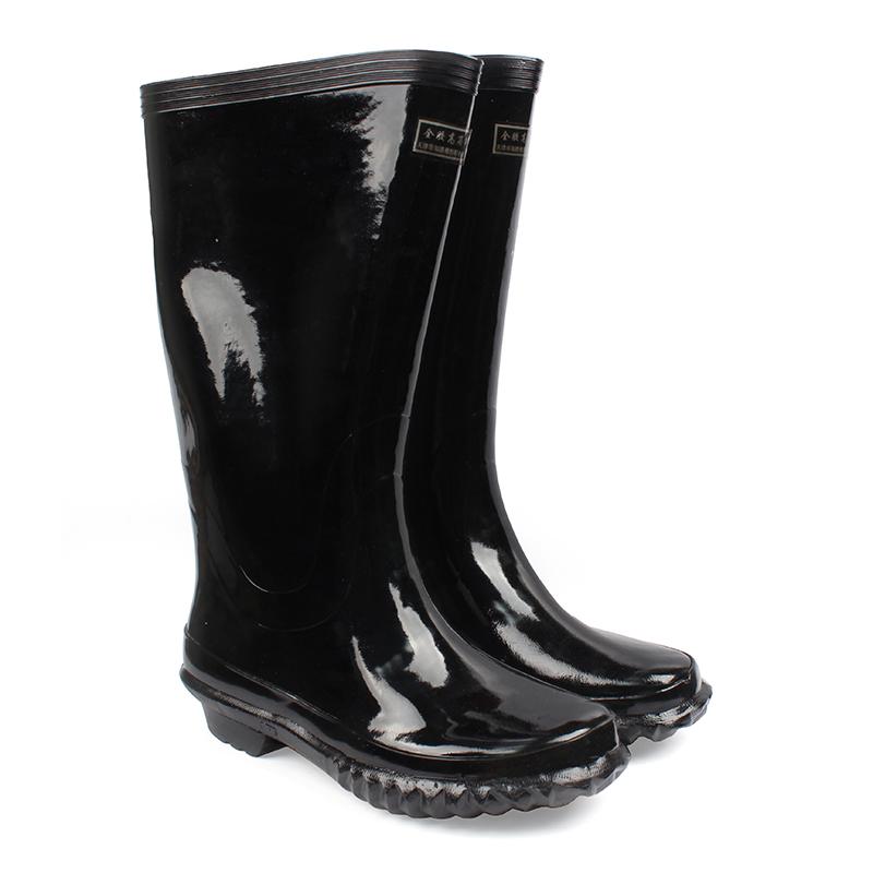 征安 3511军警高筒水靴(征安 防滑高筒工作靴)