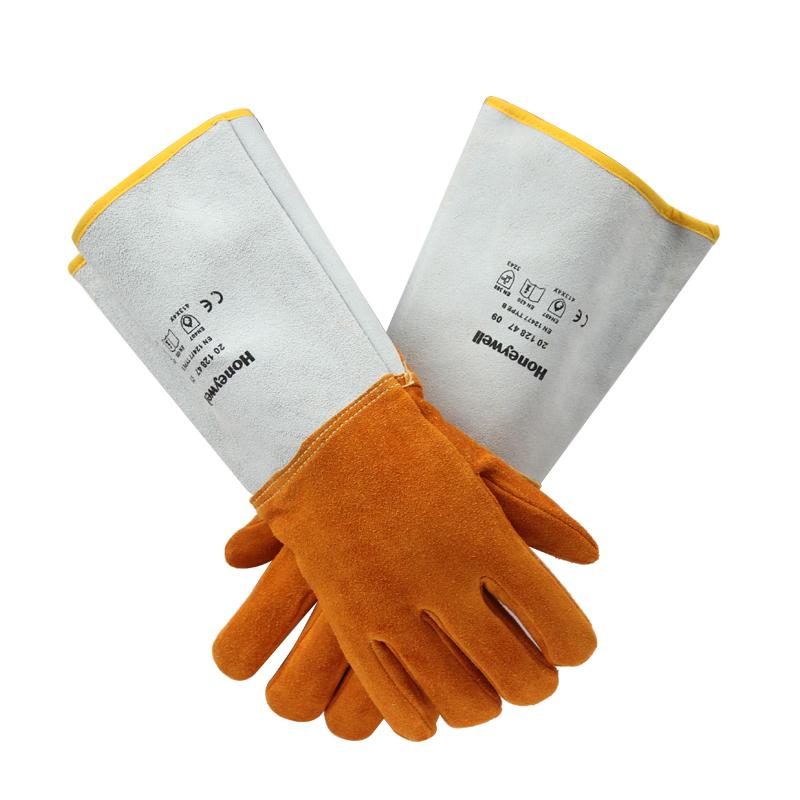 霍尼韦尔 2012847-10 进口皮革焊接隔热手套