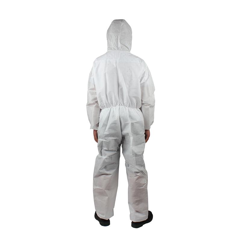 雷克兰 ESGP528W 赛服佳带帽连体(白色)S