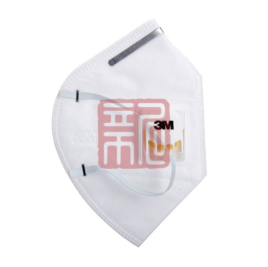 3M 9001V折叠耳戴式带呼吸阀防尘口罩(网络专供版)封面