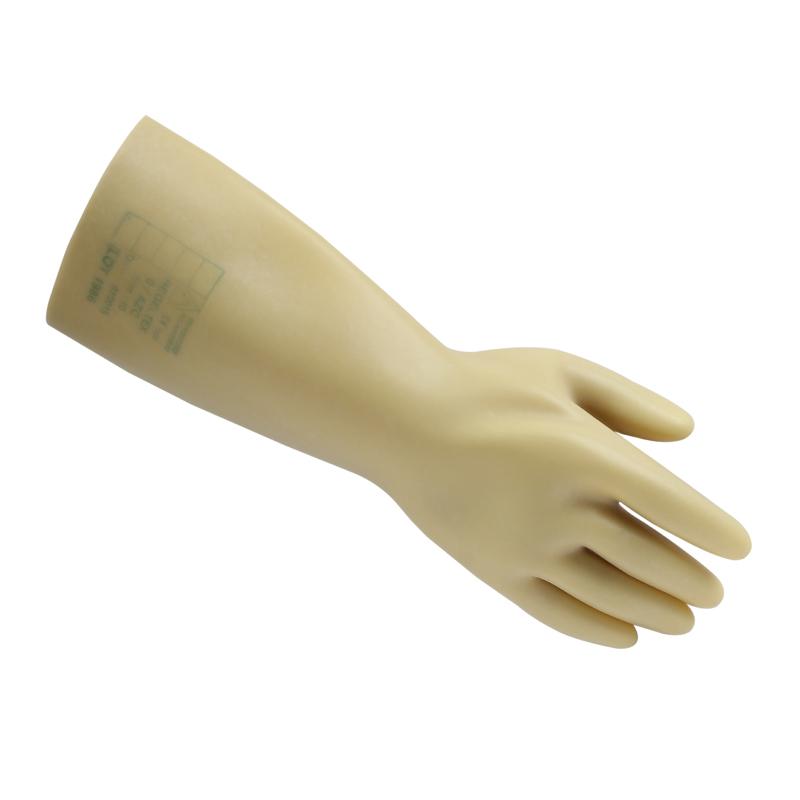 代尔塔GLEO 207001-10天然乳胶绝缘手套5KV
