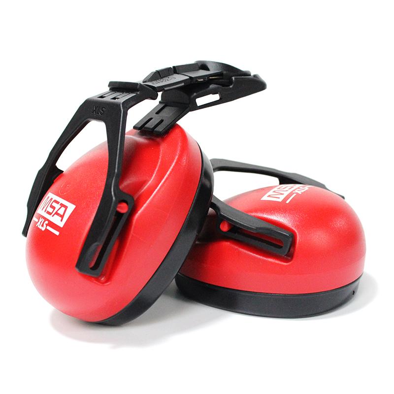 MSA梅思安 SOR14012 XLS超轻型头盔式防噪音耳罩(SNR25dB)